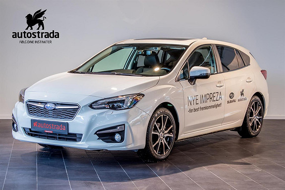 Subaru Impreza 2.0  I-ES 156hk AWD Sport Premium  2018, 14900 km, kr 319000,-