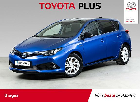 Toyota Auris 1,8 Hybrid E-CVT Sport Vision DAB, Navi, BT, Safety Sense  2018, 15100 km, kr 254000,-