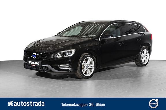 Volvo V60 D6 R-Design Twin Engine  2017, 45000 km, kr 389000,-