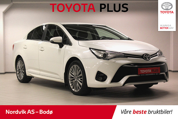 Toyota Avensis 1,8 Premium Multidrive 7S  2015, 60256 km, kr 229000,-