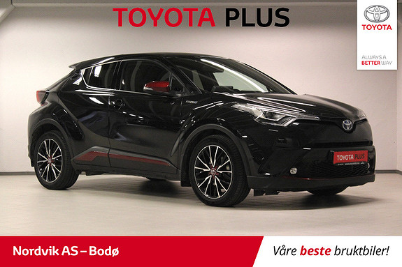 Toyota C-HR 1,8i Hybrid Supreme Tech  2017, 28534 km, kr 319000,-