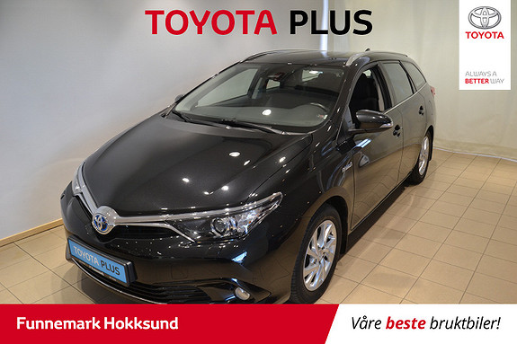 Toyota Auris Touring Sports 1,8 Hybrid Active+  2015, 44 500 km, kr 179 000,-