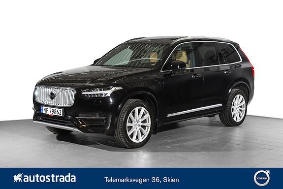 Volvo XC90 T8 AWD 407hk Inscription  2017, 54300 km, kr 749000,-
