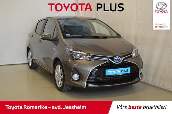 Toyota Yaris 1,5 Hybrid Style e-CVT Panoramatak, Navi, DAB+  2016, 7620 km, kr 199000,-