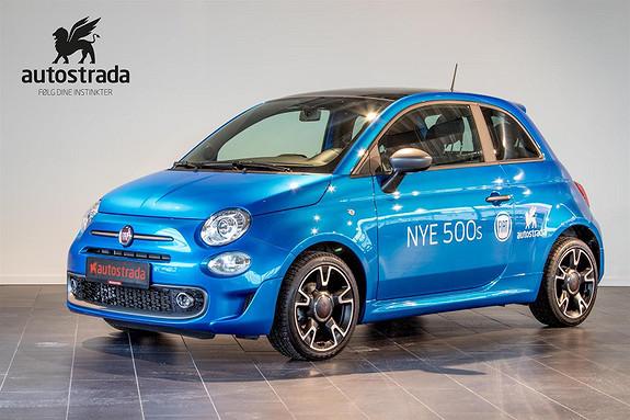 Fiat 500 0.9  Sport 7 år garanti  2018, 5000 km, kr 179000,-