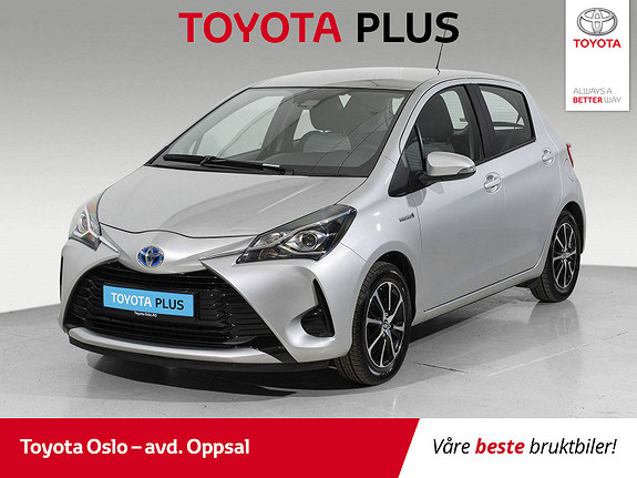 Toyota Yaris 1,5 Hybrid Active Go e-CVT aut  2018, 24728 km, kr 208900,-
