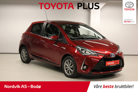 Toyota Yaris 1,5 Hybrid Active+ e-CVT aut  2017, 26161 km, kr 199000,-