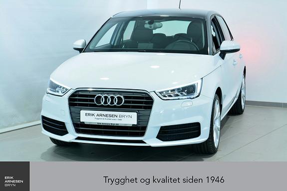 Audi A1 Sportback 1,0 TFSI 95hk Admired *KAMPANJE*  2016, 24990 km, kr 164900,-