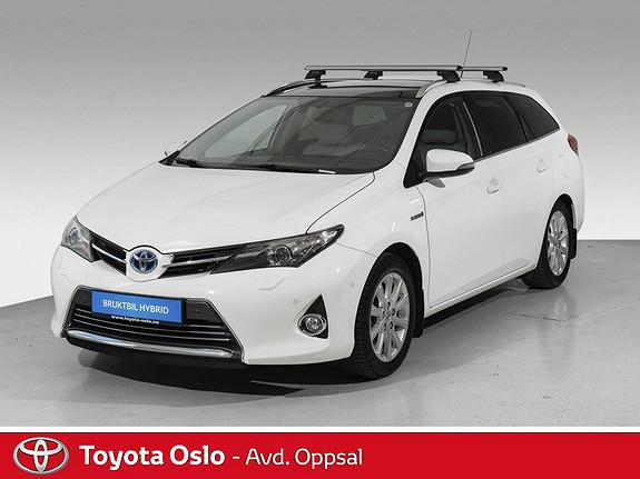 Toyota Auris Touring Sports 1,8 Hybrid Executive Toppmodell !  2013, 108331 km, kr 174900,-
