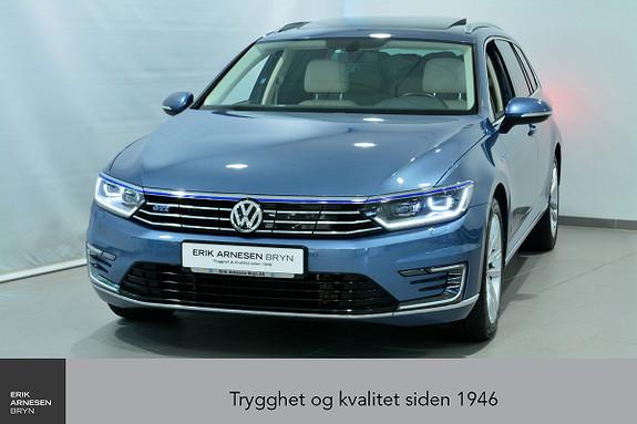 Volkswagen Passat GTE PLUG-IN HYBRID *KAMPANJE*  2017, 35900 km, kr 304900,-