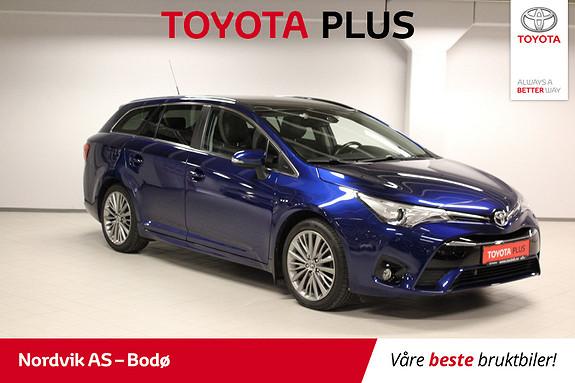 Toyota Avensis Touring Sports 1,8 Premium Multidrive 7S SKINN GL.TAK  2016, 36590 km, kr 279000,-