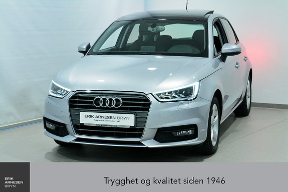 Audi A1 SPORTSBACK SB 95HK TFSI SPORT *KAMPANJE*  2017, 19900 km, kr 189900,-