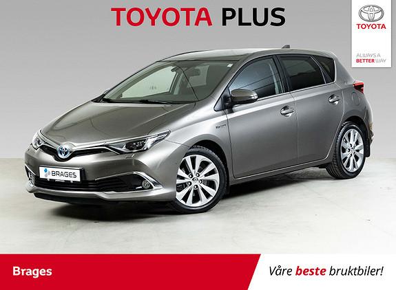 Toyota Auris 1,8 Hybrid E-CVT Executive Pano, Skinn, Navi, Cruise++  2016, 28700 km, kr 219000,-