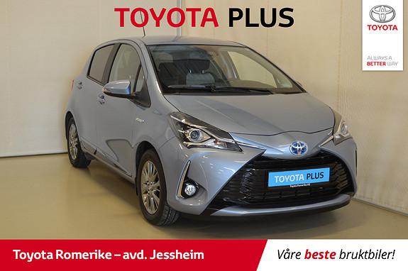 Toyota Yaris 1,5 Hybrid Active e-CVT 1 eier, Autolys, Regnsensor  2017, 19984 km, kr 194500,-