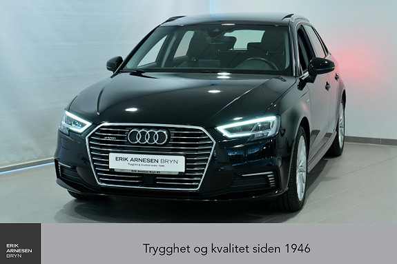 Audi A3 E-TRON PLUG-IN HYBRID *KAMPANJE*  2017, 39450 km, kr 269900,-