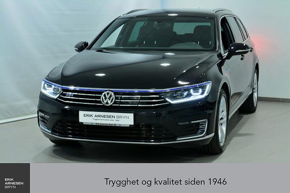 Volkswagen Passat GTE PLUG-IN HYBRID  *KAMPANJE*  2017, 43274 km, kr 329900,-