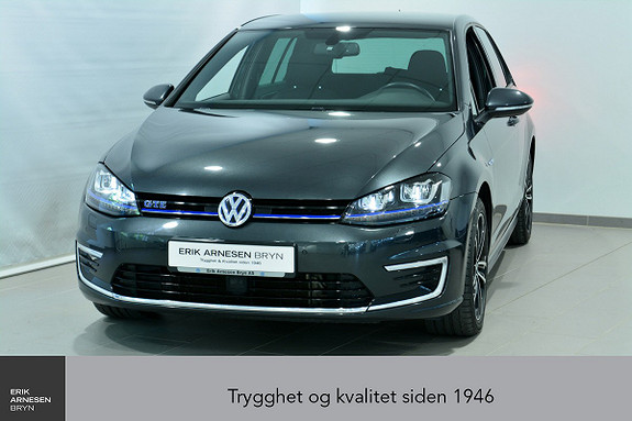 Volkswagen Golf GTE PLUG-IN HYBRID Keyless, Ryggekamera, Navi, *KAMPANJ  2016, 40800 km, kr 198000,-