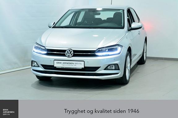 Volkswagen Polo 1,0 TSI 95hk Highline aut *KAMPANJE*  2018, 46600 km, kr 199900,-