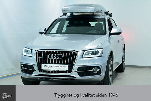 Audi Q5 2,0 TDI 163hk quattro S tronic *KAMPANJE*  2016, 65000 km, kr 414900,-