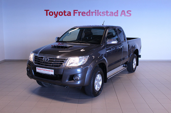 Toyota HiLux D-4D 144hk Extra Cab 4WD SR  2014, 57000 km, kr 259000,-