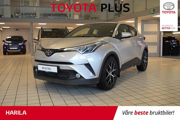 Toyota C-HR 1,2T Active 4WD aut  2018, 39815 km, kr 329000,-