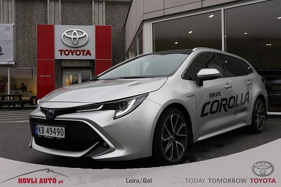 Toyota Corolla 2,0 Hybrid e-CVT Touring Sports Executive Panorama/NAVI  2019, 11500 km, kr 429900,-