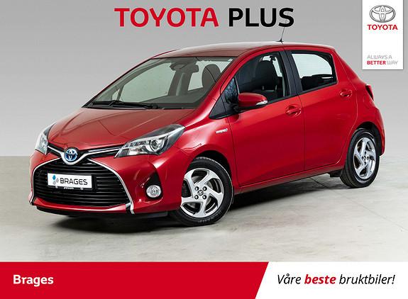 Toyota Yaris 1,5 Hybrid Active S e-CVT Tectyl, Navi, DAB+, R.kamera  2016, 41800 km, kr 159000,-