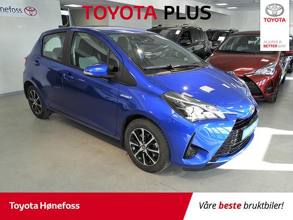 Toyota Yaris 1,5 Hybrid Active Go e-CVT aut Navi, ISO-Fix, Ryggekam.  2018, 23153 km, kr 209000,-