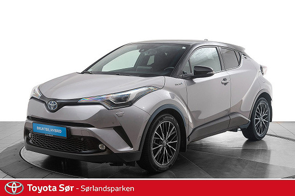 Toyota C-HR 1,8i Hybrid Lounge Tech  2018, 45171 km, kr 299000,-