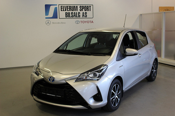 Toyota Yaris 1,5 Hybrid Active Go e-CVT aut  2018, 23666 km, kr 189000,-
