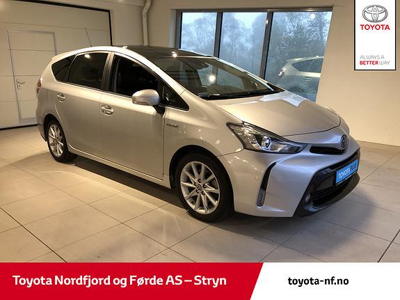 Toyota Prius+ Seven 1,8 VVT-i Hybrid Premium  2018, 84760 km, kr 309000,-