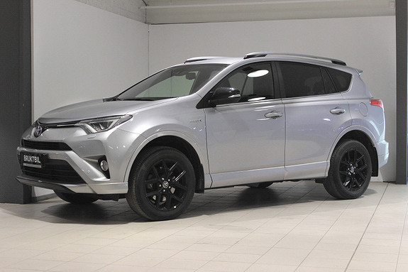 Toyota RAV4 Hybrid AWD 71n Edition Color Delskinn, Varmeratt, LED++  2018, 29600 km, kr 424000,-