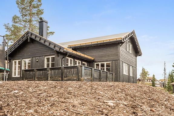Branäs – modell Tiur 125 kvm – Prosjekterte hytter Räven  og Illern stugby – Flott beliggenhet