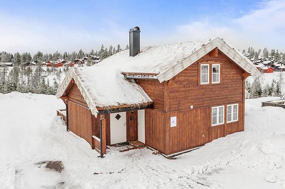Branäs – Lirypa L – 98 m2 – Prosjekterte hytter i Räven og Illern stugby – Flott beliggenhet