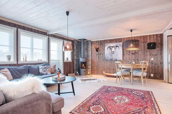 BRANÄS/ RÄVEN/ ILLERN STUGBY – Prosjekterte hytter til salgs. Meget barnevennlig. Fjellrypa S.