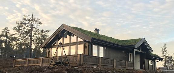 Prosjektert Buen Småroi L – Inkl tomt, graving, betongarbeider og nøkkelferdig hytte
