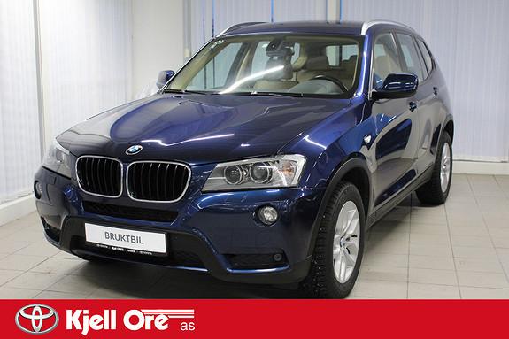 BMW X3 xDrive20d (163hk) Automat m/ hengerfeste  2011, 131000 km, kr 225000,-