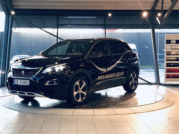 Peugeot 3008 GT Line 1,2 PureTech 130hk aut  2019, 5200 km, kr 399000,-