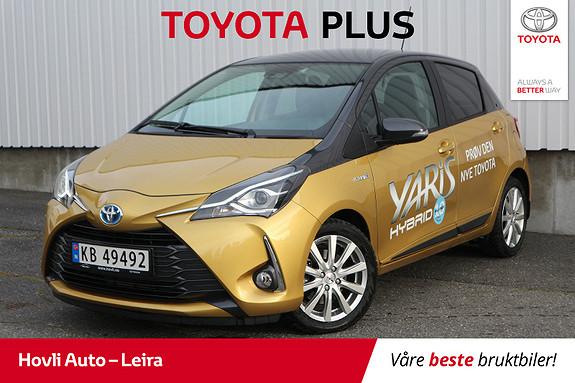 Toyota Yaris 1,5 Hybrid Y20+ Bi-Tone e-CVT aut // Demo //  2019, 9500 km, kr 229000,-