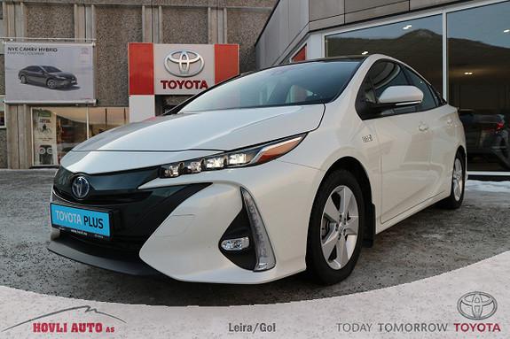 Toyota Prius Plug-in Hybrid 1,8 VVT-i Solar PHV Navi//DAB+//Nybilgaranti 2022  2017, 25267 km, kr 249900,-