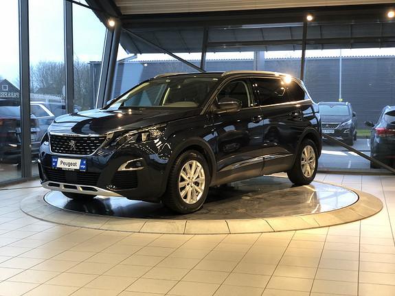 Peugeot 5008 Allure 1,6 BlueHDi 120hk aut 7s  2017, 36599 km, kr 379000,-