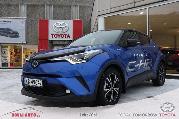 Toyota C-HR 1,8i Hybrid Lounge Tech Lav km/Cruise/Navi/Varme i ratt  2019, 10050 km, kr 329000,-
