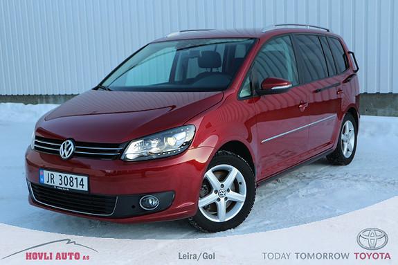 Volkswagen Touran 1,4 140 TSI DSG Highline 5-s. // HCP-bil // Recarostol  2014, 51000 km, kr 199900,-