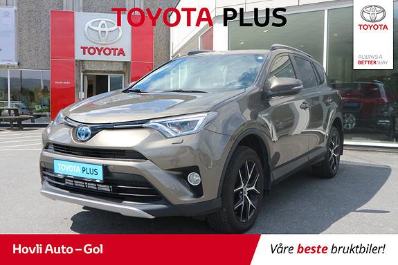 Toyota RAV4 Hybrid AWD Active Style LEDbar/ Varme i ratt  2017, 33882 km, kr 379900,-