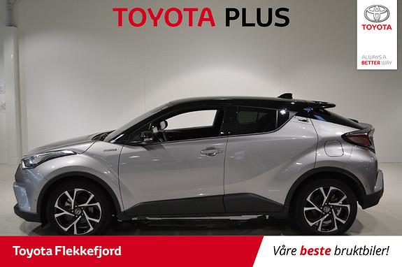 Toyota C-HR 1,8i Hybrid Lounge Tech  2019, 15934 km, kr 349000,-