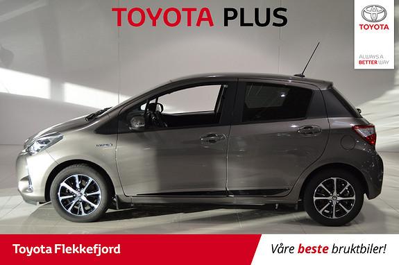 Toyota Yaris 1,5 Hybrid Active+ e-CVT aut  2018, 14790 km, kr 209000,-