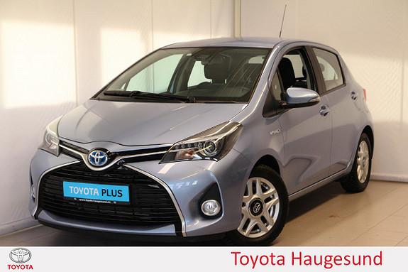 Toyota Yaris 1,5 Hybrid Active S e-CVT Navi, kamera, Tectyl - SE KM!  2017, 9389 km, kr 175000,-