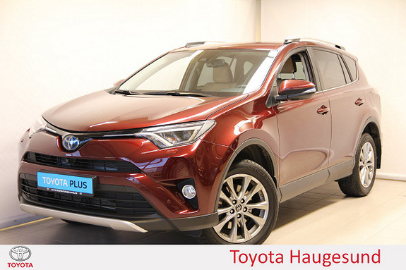 Toyota RAV4 Hybrid 2WD Executive  2016, 14423 km, kr 335000,-