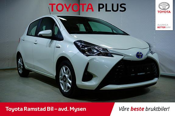 Toyota Yaris 1,5 Hybrid Active Go e-CVT aut  2018, 40400 km, kr 185000,-