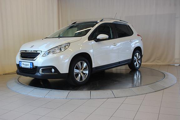 Peugeot 2008 Active Style 1,2 PureTech 110hk aut  2015, 59103 km, kr 149000,-